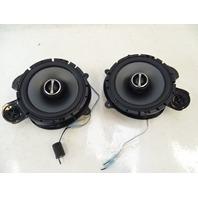 90 Mercedes W126 560SEL 420SEL speaker set, Alpine SPS-610