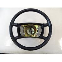 90 Mercedes W126 560SEL 420SEL steering wheel, black 1244640228