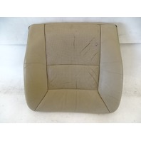 90 Mercedes W126 560SEL 420SEL seat cushion, bottom, right front, beige