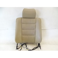 90 Mercedes W126 560SEL 420SEL seat cushion, back, right front, beige