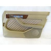 90 Mercedes W126 560SEL 420SEL door panel, right front, beige