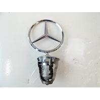 90 Mercedes W126 560SEL 420SEL emblem, hood star, front 1238800086