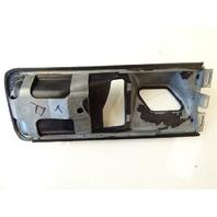 89 Mercedes W126 420SEL 560SEL trim, interior door handle surround, left front 1267660111