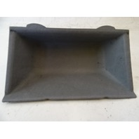 89 Mercedes W126 420SEL 560SEL tray, center console 1266800152 gray coin holder
