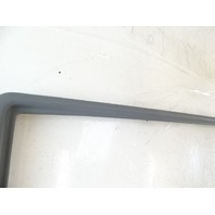 89 Mercedes W126 420SEL 560SEL trim, interior, window surround, right rear 1267350771 gray