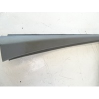 89 Mercedes W126 420SEL 560SEL trim, interior, window surround, left front 1267250371 gray