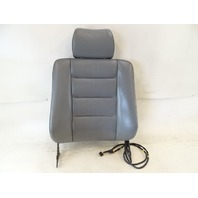 89 Mercedes W126 420SEL 560SEL seat cushion, back, right front, gray