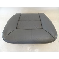 89 Mercedes W126 420SEL 560SEL seat cushion, bottom, left front, gray