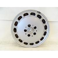 89 Mercedes W126 420SEL 560SEL wheel, OEM silver, 6.5x15 ET21 1264004102