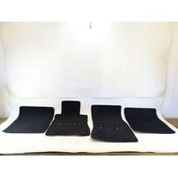 89 Mercedes W126 420SEL 560SEL floor mats, black