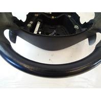 07 Mercedes W219 CLS63 steering wheel, black w/paddle shift 2094601903