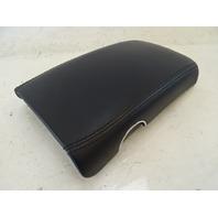 07 Mercedes W219 CLS63 CLS550 armrest, on center console, black leather