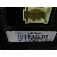 07 Mercedes W219 CLS63 instrument cluster, speedometer 2195403211
