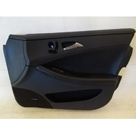 07 Mercedes W219 CLS63 CLS550 door panel, right front, black