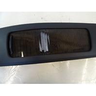07 Mercedes W219 CLS63 CLS550 center console,  rear, wood elm laurel