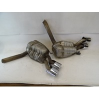 07 Mercedes W219 CLS63 exhaust, mufflers AMG 2194910900 2194911000