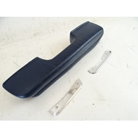 80 Mercedes R107 450SL grab handle, on door panel, left, blue armrest