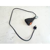 80 Mercedes R107 450SL seat belt buckle, clip receiver, left Klippan