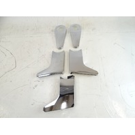 80 Mercedes R107 450SL trim set, seat hinge chrome covers