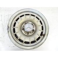 80 Mercedes R107 450SL wheel, 6.5x14 1084001002 silver