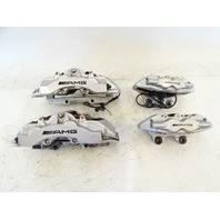 05 Mercedes R230 SL55 brake calipers, AMG Brembo front and rear, set oem