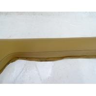 94 Lotus Esprit S4 trim, interior a-pillar, right, tan leather
