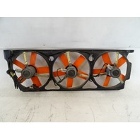 94 Lotus Esprit S4 cooling fan set, 5 blade B082K6065F (3) w/ shroud