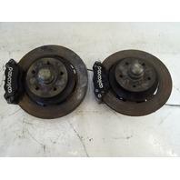 94 Lotus Esprit S4 brake calipers, wildwood, front w/ hubs/rotors
