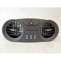 04 Mercedes R230 SL500 SL55 ac vent, dash, center, gray 2308300054 SL500 SL600 SL65