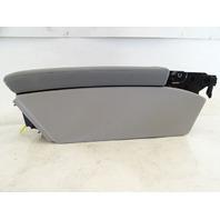 04 Mercedes R230 SL500 SL55 center console armrest storage 2306800050 alpaca gray