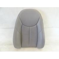 04 Mercedes R230 SL500 seat cushion, back, left, alpaca gray