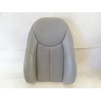 04 Mercedes R230 SL500 seat cushion, back, right, alpaca gray
