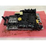 04 Mercedes R230 SL500 valve body with solenoids 722.9 2202701006