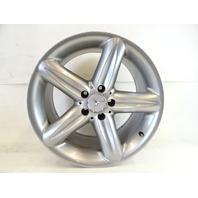 04 Mercedes R230 SL500 SL55 wheel, 9.5x18 rear 2304010502 sliver