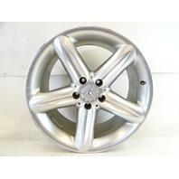 04 Mercedes R230 SL500 SL55 wheel, rim, front 2304010402 8.5x18 silver