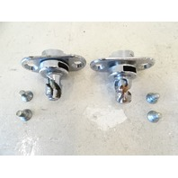 82 Mercedes R107 380SL latch set, for convertible or hard top lock, front