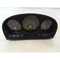 82 Mercedes R107 380SL instrument cluster, speedometer