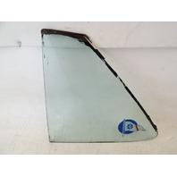 82 Mercedes R107 380SL glass, hardtop window, left