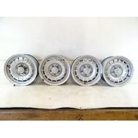 82 Mercedes R107 380SL wheel set, 6.5x14 1264002102 silver