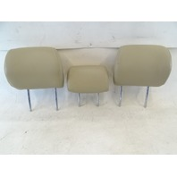 04 Lexus GX470 headrest, set, 2nd row seats, ivory 71910-60620