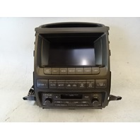 04 Lexus GX470 navigation unit, stereo radio 86111-60120 86120-60441