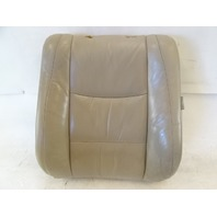 04 Lexus GX470 seat cushion, back, left front, ivory 71074-6A180