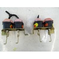 82 Mercedes R107 380SL vacuum valve actuator set, for fresh air flaps 9062100162