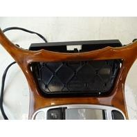 03 Mercedes R230 SL500 SL55 wood trim w/ ashtray, on center console 2306801539 walnut