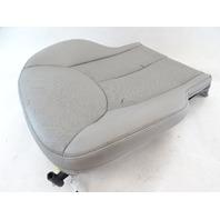 03 Mercedes R230 SL500 SL600 seat cushion, bottom, right, alpaca gray