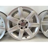 03 Mercedes R230 SL500 SL55 wheels, set of 4, 2304010902 8.5x17 silver