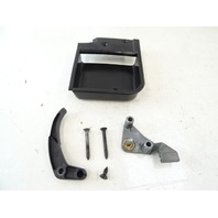 75 Mercedes R107 450SL hood release handle w/trim 1078870227