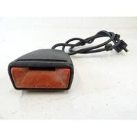82 Mercedes R107 380SL seat belt buckle, clip receiver, left 1078602169
