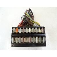 75 Mercedes R107 450SL fuse box 1075400450