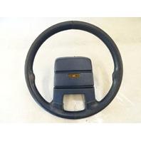 1985 Nissan Z31 300ZX steering wheel 48410-04P01 blue